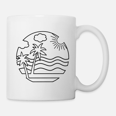 Beach beach - Coffee/Tea Mug