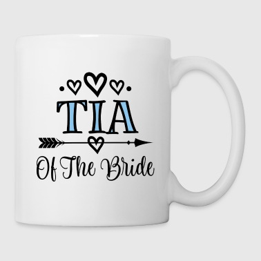 Tia Of The Bride Wedding Party - Coffee/Tea Mug