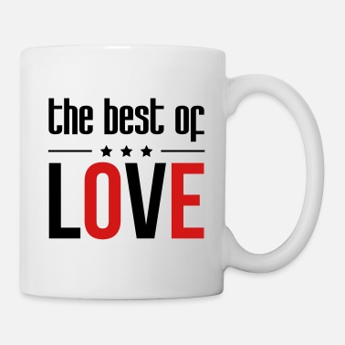 Romantic Joke Darling The best of Love - Mug