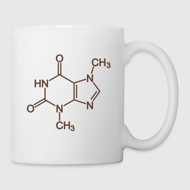 Theobromine (chocolate) molecule - Coffee/Tea Mug