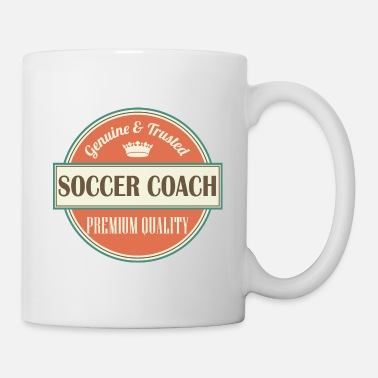 Coach Soccer Coach Vintage Sports Logo - Coffee/Tea Mug
