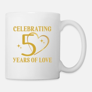 Anniversary 50th Wedding Anniversary Golden - Coffee/Tea Mug
