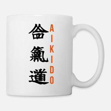 Humor Aikido Aikidoka Sport Fight Fighter Strong - Mug