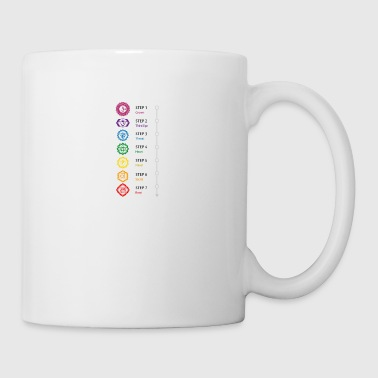 Chakra chakra steps - Coffee/Tea Mug
