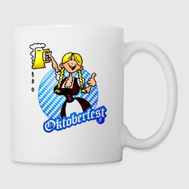 Oktoberfest - girl in a dirndl - Coffee/Tea Mug