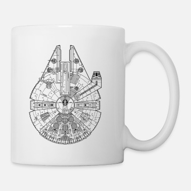 Millenium Falcon Enlarged - Coffee/Tea Mug