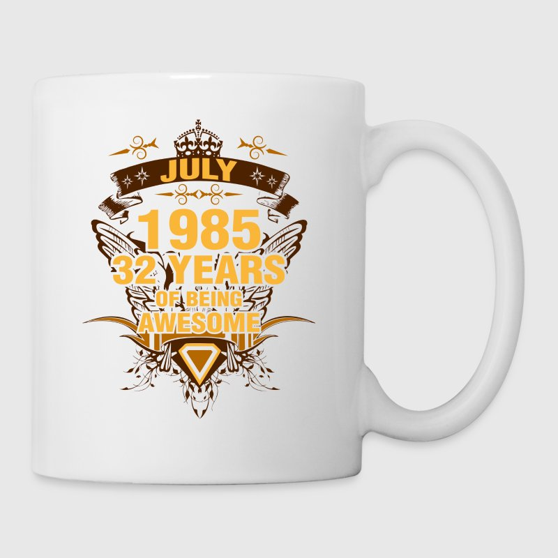 July 1985 32 Years of Being Awesome - Coffee/Tea Mug