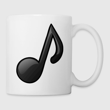 Music Note Music Note Musical Notes Instrument Gift Present - Coffee/Tea Mug