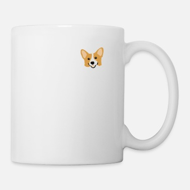 Puppy Corgi In Pocket Funny Cute Puppy Big Happy Smile T - Coffee/Tea Mug