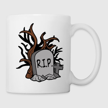 Halloween Horror Monster Zombie Scary Grave stone - Coffee/Tea Mug