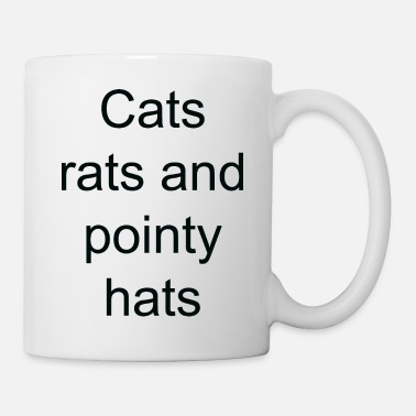 Pointy Cats rats and pointy hats - Coffee/Tea Mug