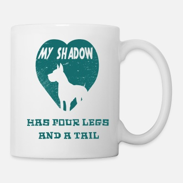Four-legged Shadow with four Legs - Mug