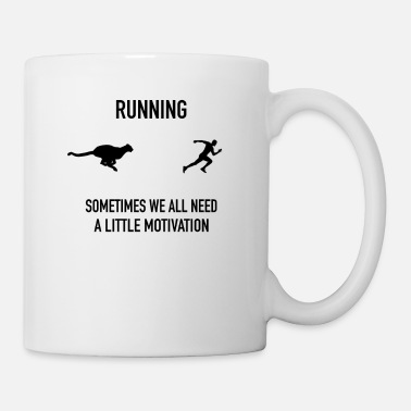 Tree RUNNING Sometimes we all need a little motivation. - Mug