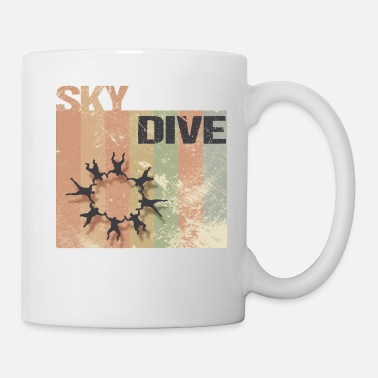 Parachuting Skydive, Skydiving, Parachutist, Shirt gift idea - Mug