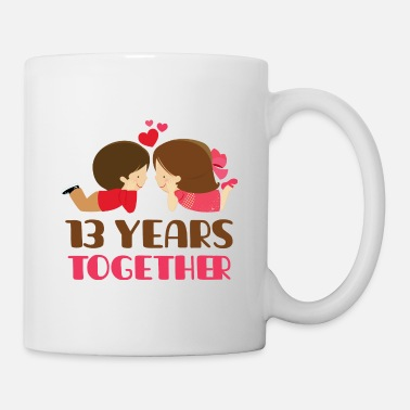 Anniversary 13th Anniversary Couples 13 Years - Coffee/Tea Mug