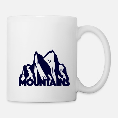 Mountains - Mug