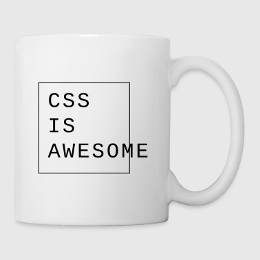 css is awesome Webdesign - Coffee/Tea Mug