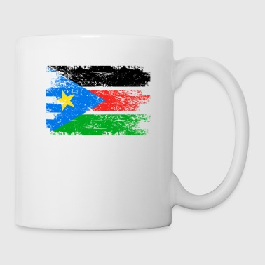 South Sudan Shirt Gift Country Flag Patriotic Travel Africa Light - Coffee/Tea Mug