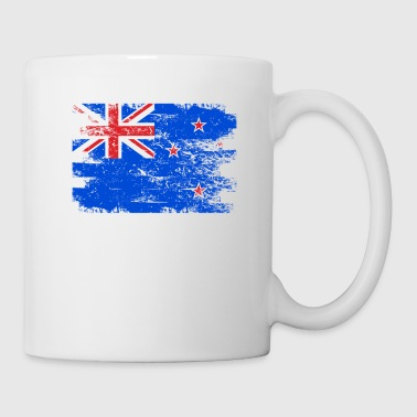 New Zealand Shirt Gift Country Flag Patriotic Travel Oceania Light - Coffee/Tea Mug