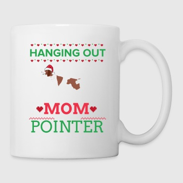 Pointer Ugly Christmas Sweater Xmas Gift - Coffee/Tea Mug
