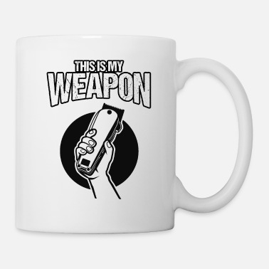 Revolution This Is My Weapon Barber Revolution Giftidea - Mug