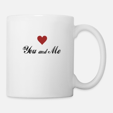 Date You and me Lovely Love T-Shirt for Couple - Mug