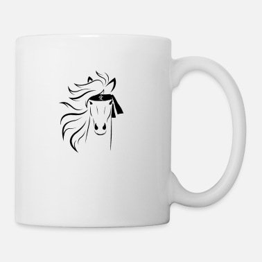 Headband strong horse with karate headband - Mug
