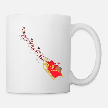 Holiday With Dog Christmas Parson Russel Terrier Xmas Gift Idea - Mug