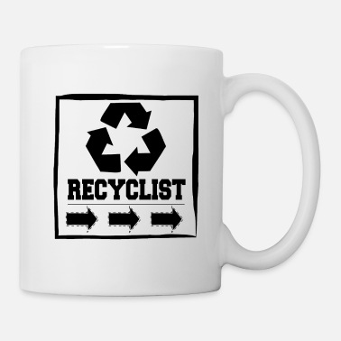 Recycle Recyclist Eco Environmental - Mug