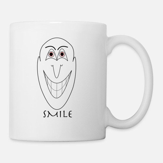 Grin Mugs & Drinkware - SMILE - Mug white