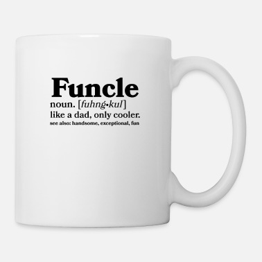 Uncle Funcle, Funny Uncle, Mens Design - Mug