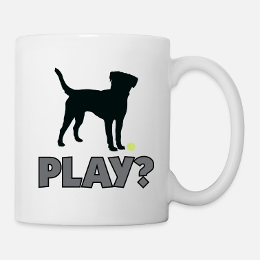 Golden Retriever Tennis Ball Pup Play Puppy Play - Mug
