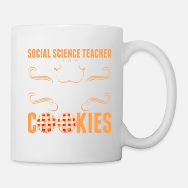 Feeling Social Science Teacher Will Work For Cookies Tshir - Coffee/Tea Mug