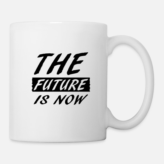 World Mugs & Drinkware - Future - Mug white