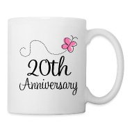 Right & 20th Anniversary Gift Idea Mug | Spreadshirt