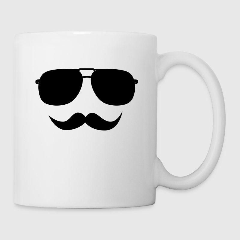 Mustache face - Coffee/Tea Mug