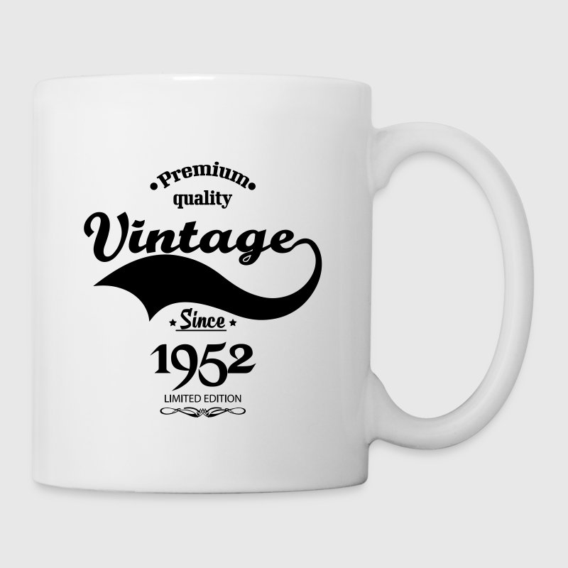 Premium Quality Vintage Since 1952 Limited Edition - Coffee/Tea Mug