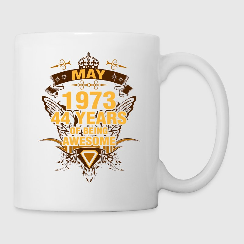 May 1973 44 Years of Being Awesome - Coffee/Tea Mug