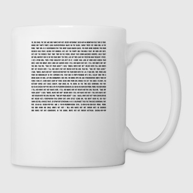 MAN'S NOT HOT - LYRICS - Coffee/Tea Mug