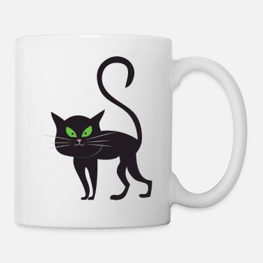Animal Halloween Cat Animal - Coffee/Tea Mug