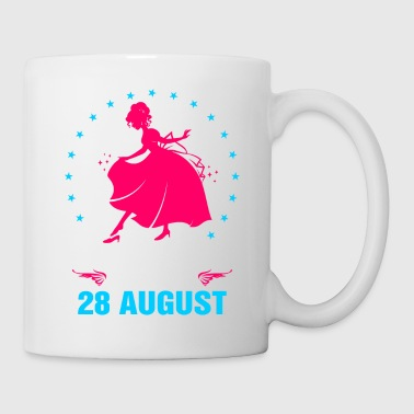 princesses are born in 28 August - Coffee/Tea Mug