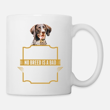 Guys Punish The Deed Not The Breed Pointer Dog Tshirt - Coffee/Tea Mug