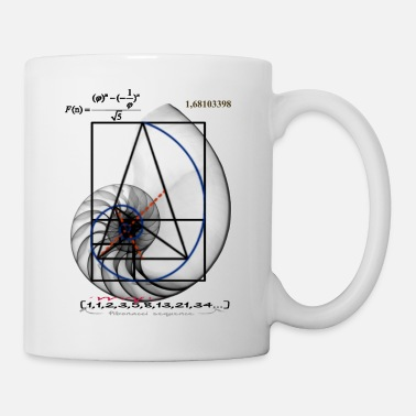Graphic Design fibonacci 3 - Mug