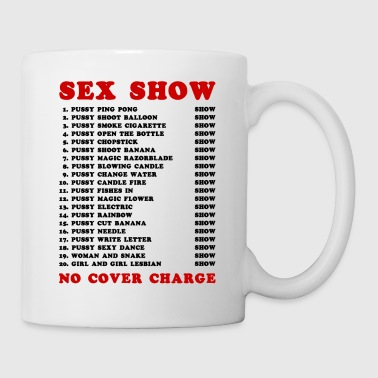 Bangkok Red Light Ping Pong Sex Show - Coffee/Tea Mug