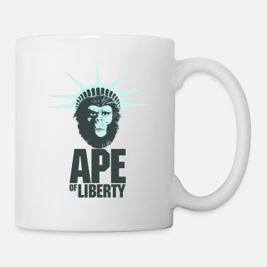 Ape Of Liberty - Coffee/Tea Mug