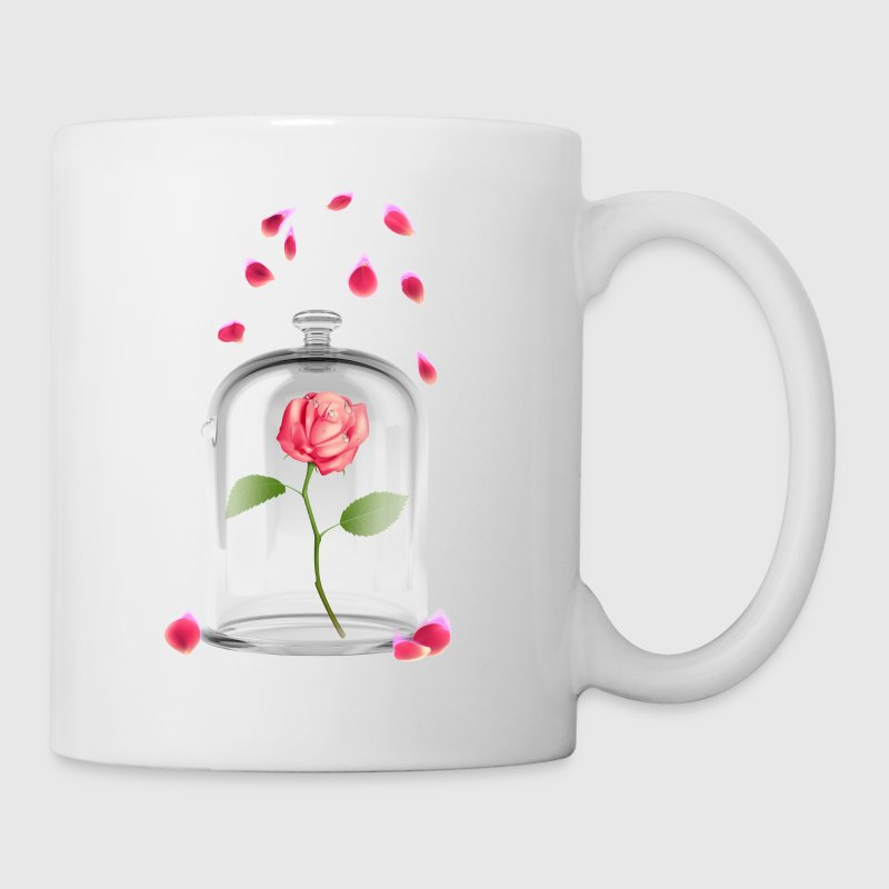 Beauty and The Beast Enchanted Rose - Coffee/Tea Mug
