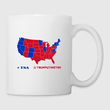 Trumputinstan Map - Coffee/Tea Mug