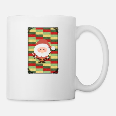 Pattern SANTA CLAUS XMAS DESIGN! GIFT IDEA FOR CHRISTMAS - Coffee/Tea Mug