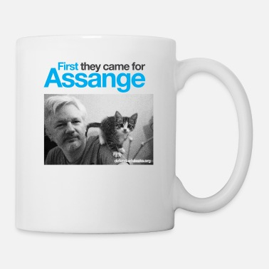 Assange Case First they came for Assange - Mug