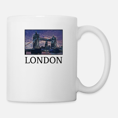 Uk London Holidays Vacation City Souvenir - Coffee/Tea Mug